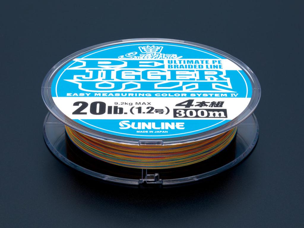 for Jigging. SUNLINE Salti Mate PE JIGGER ULT 4BRAID 200m