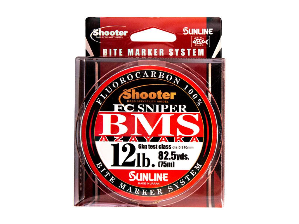 NEW SUNLINE Shooter FC SNIPER BMS AZAYAKA 75m Fluorocarbon 100/% Choose Size