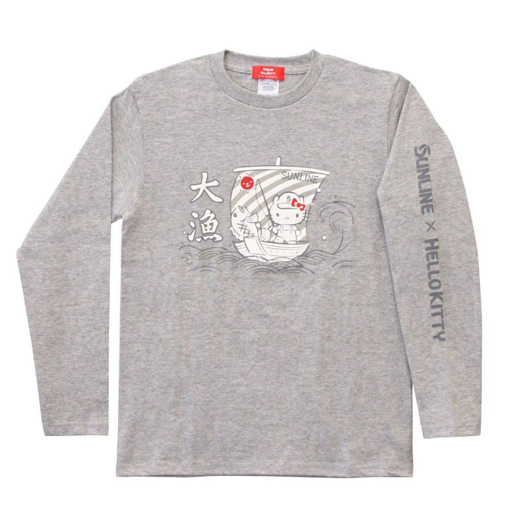 ハローキティ ロングTシャツ 2018(グレー) SKT-1823
