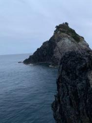 中泊エリアの磯。鹿島観音崎でのグレフカセ釣り