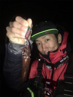 雨上がりのヒイカ爆釣☆GUNNING-STYLE