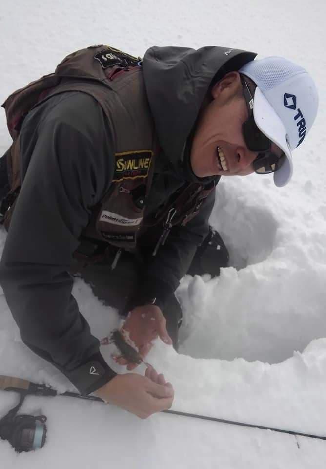 深雪のオショロコマ釣行