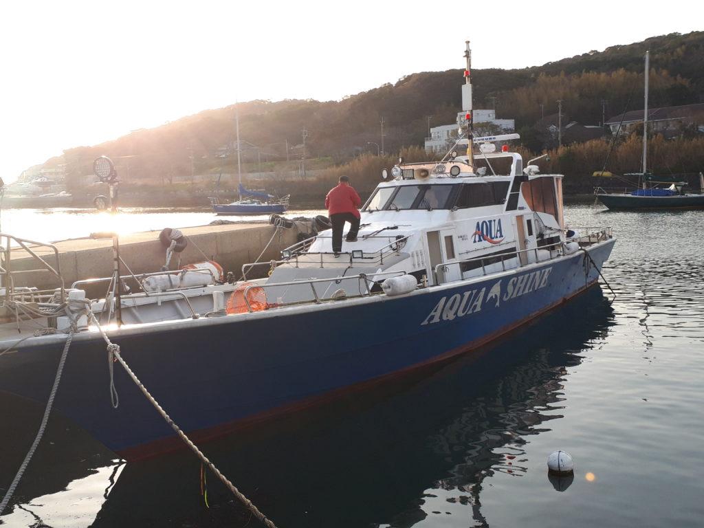 福岡県 宗像沖ノ島グレ釣り