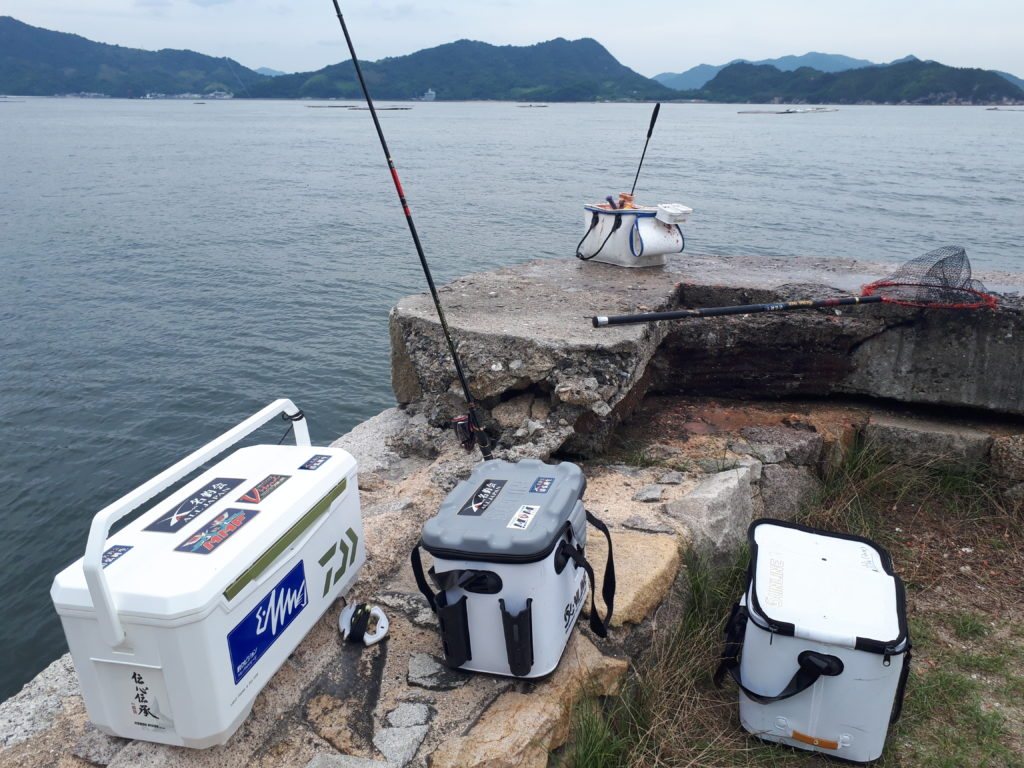 広島湾弁天島チヌ釣り