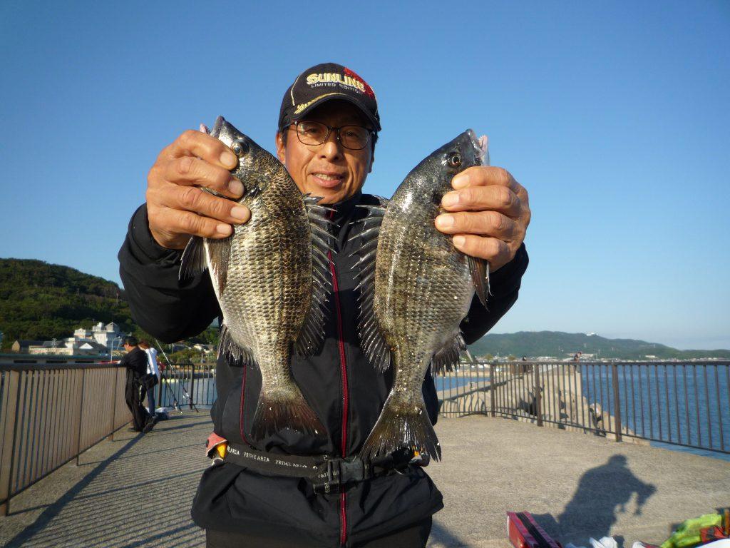 フカセチヌ釣り