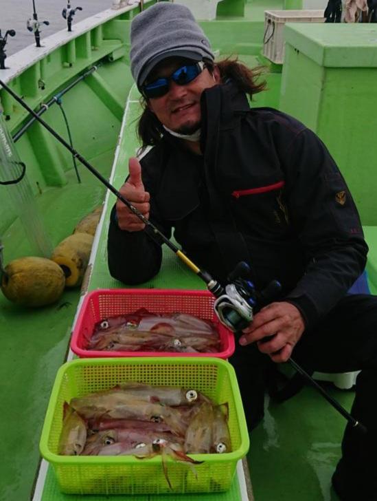 2021年初釣り関東のマルイカ