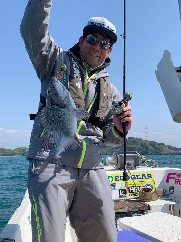 伊万里湾でアジ釣り