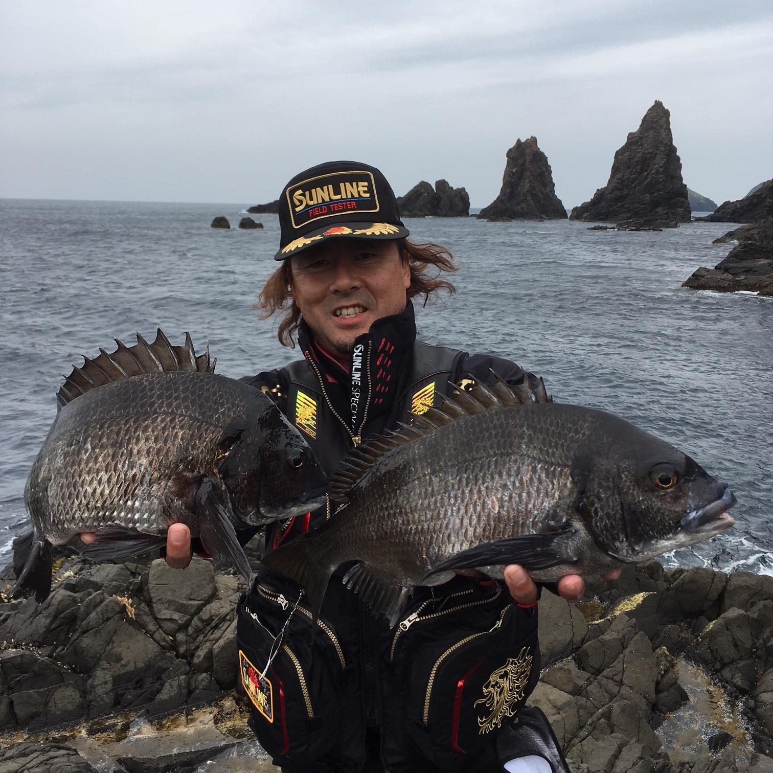 新潟県 佐渡ケ島の黒鯛