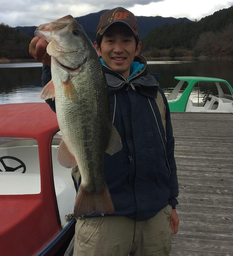 津風呂湖冬バスカップ優勝です