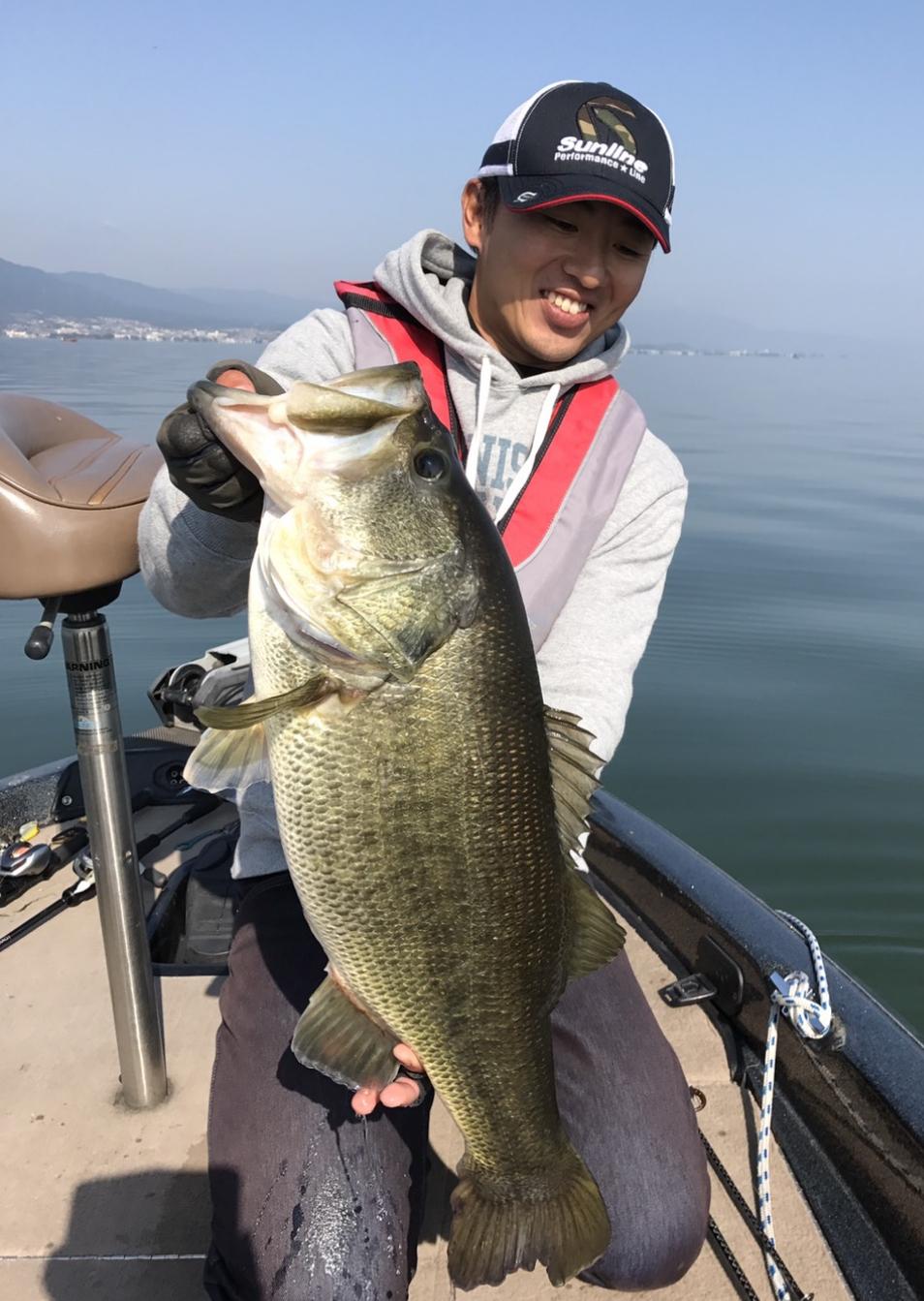 琵琶湖の63cm