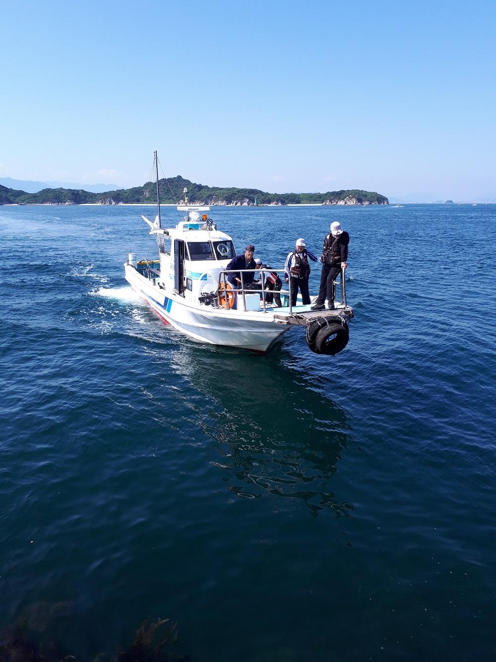 名釣会フィッシングスクール参加