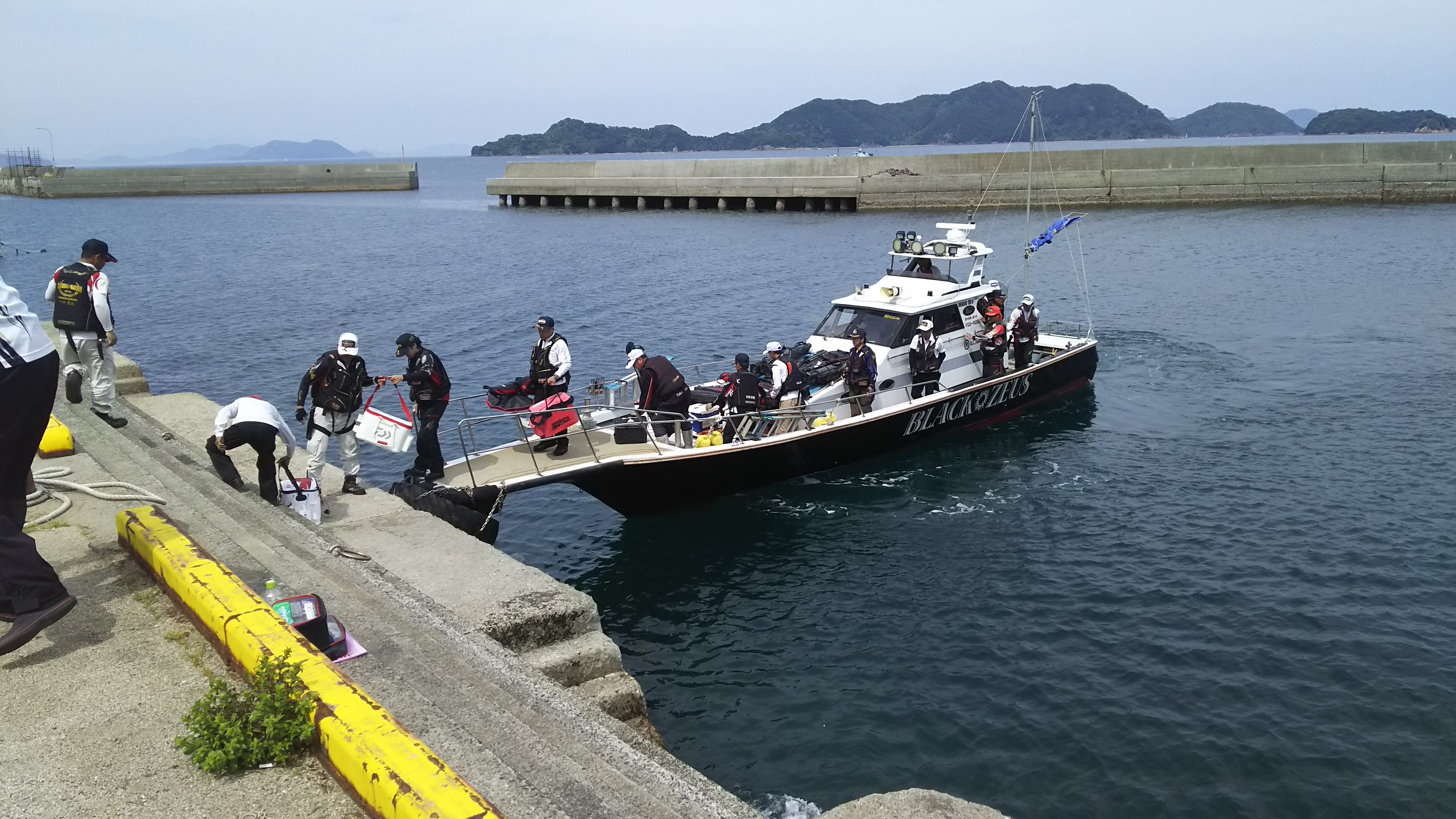 GFG山口支部グレ釣り大会