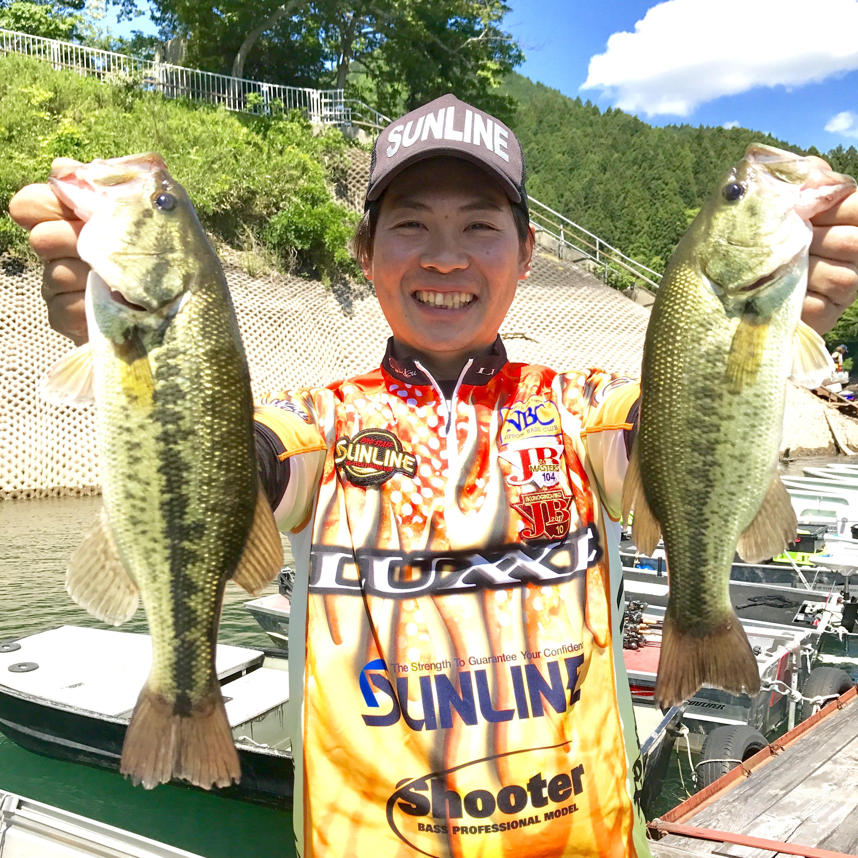 JB生野銀山湖シリーズ第2戦5位入賞。
