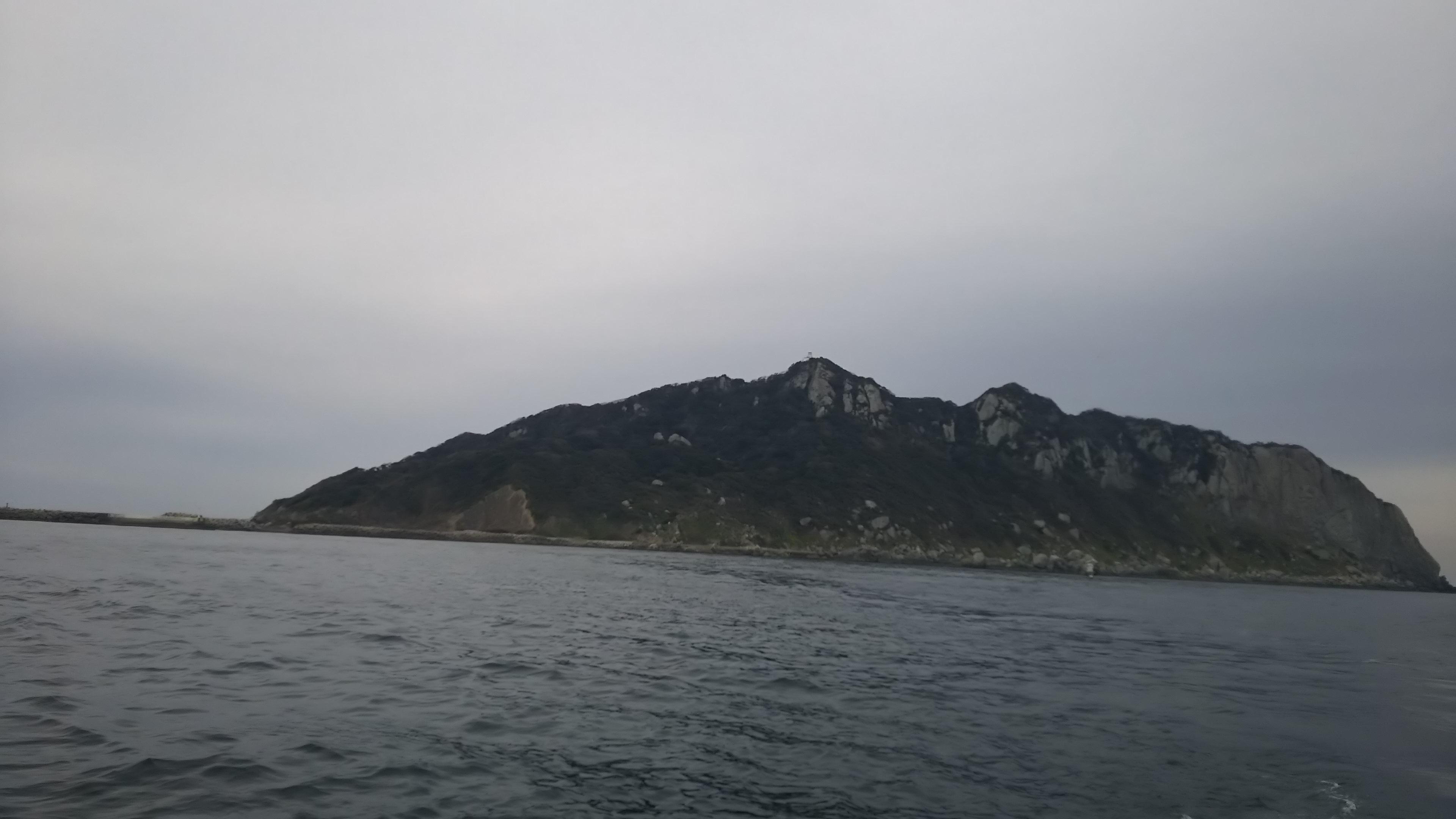 宗像、沖ノ島の寒グレ