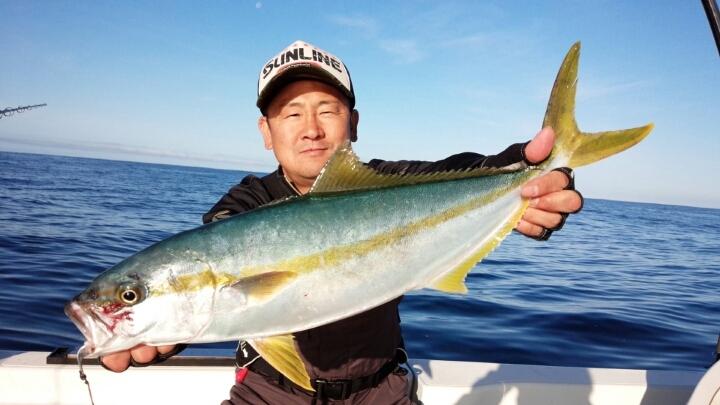 福井県三国沖の近海ジギング!