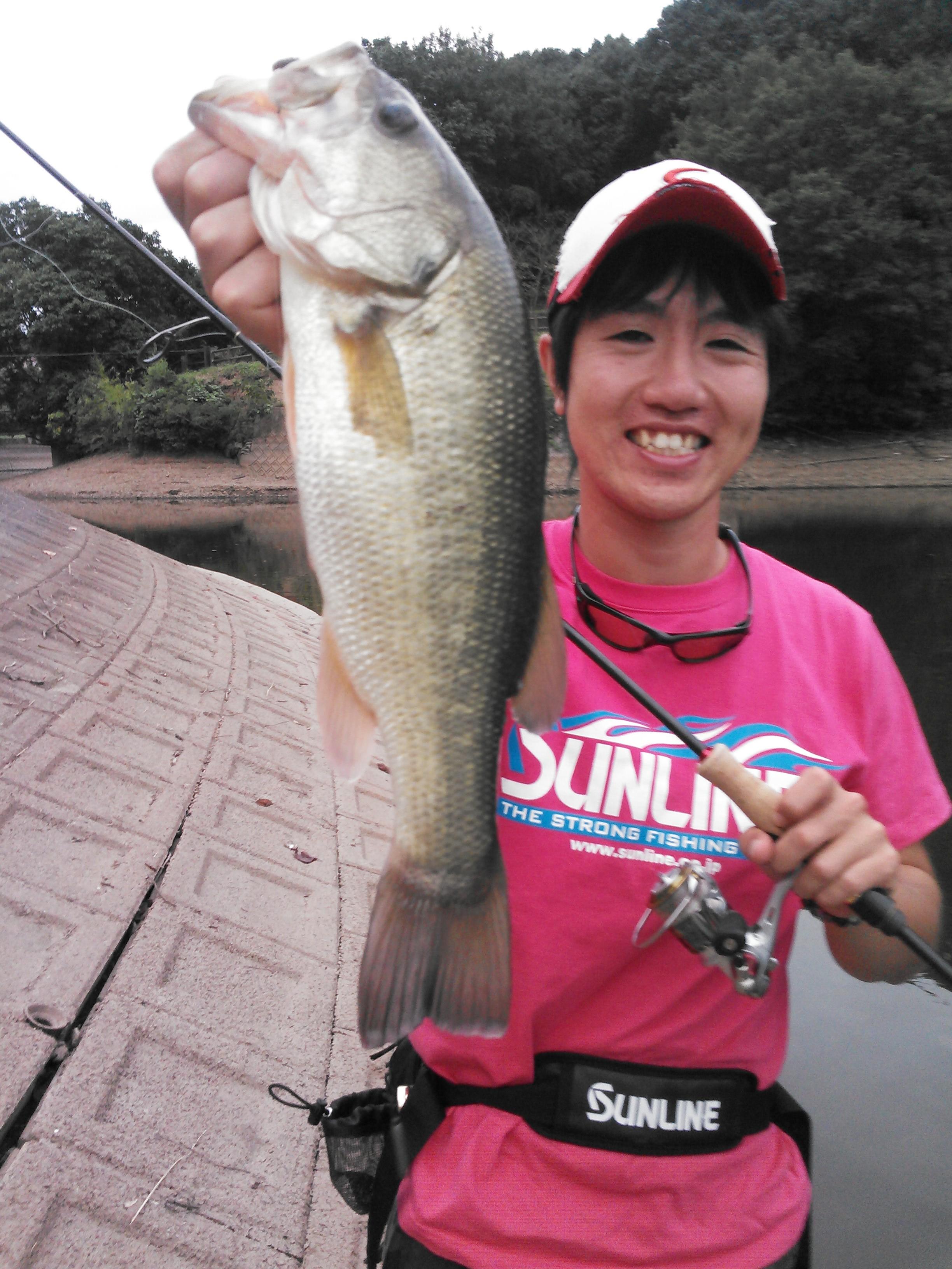 九州陸釣りグランドチャンピオンシップ後の立岡池