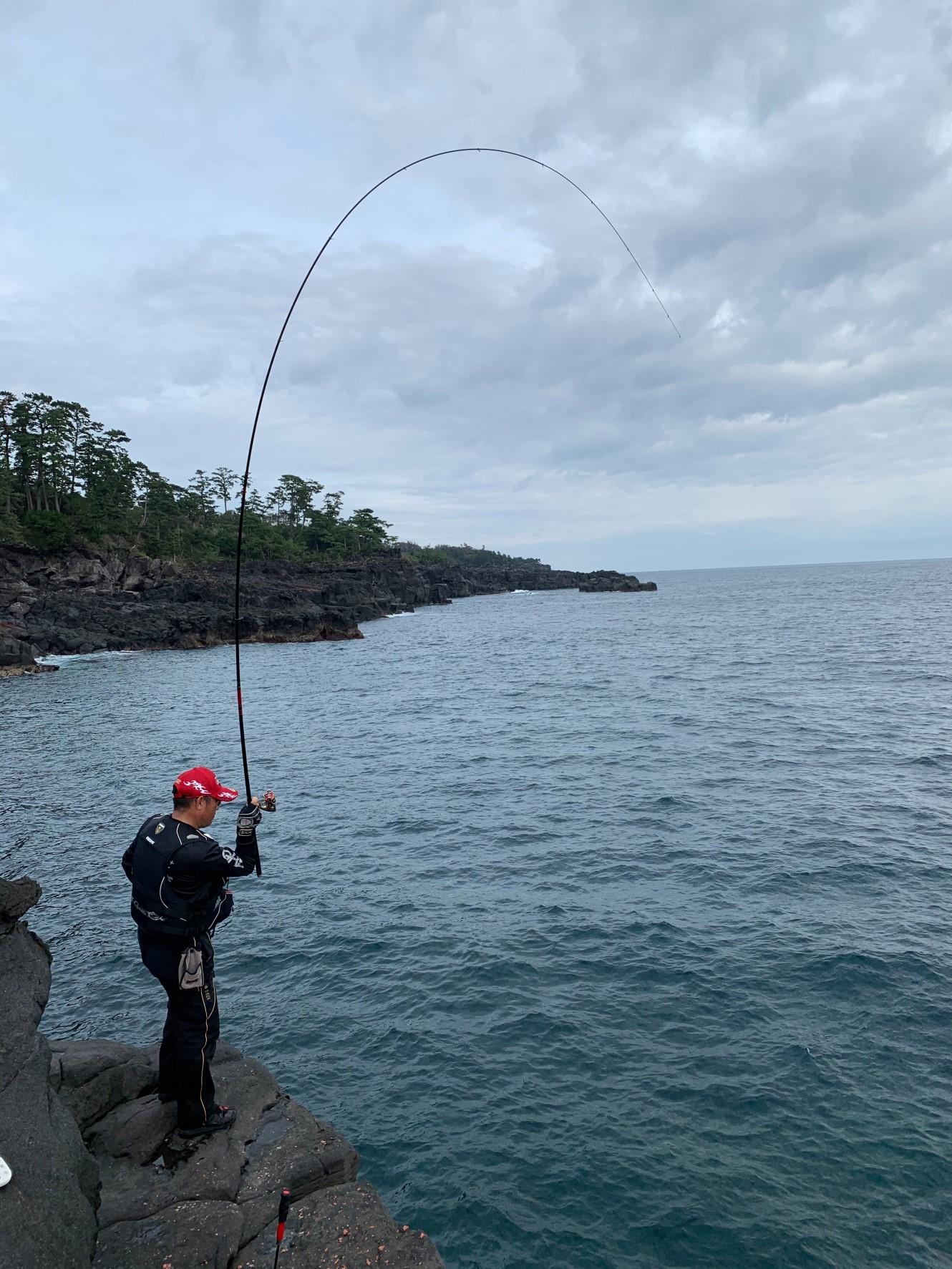 磯釣りシーズン開幕