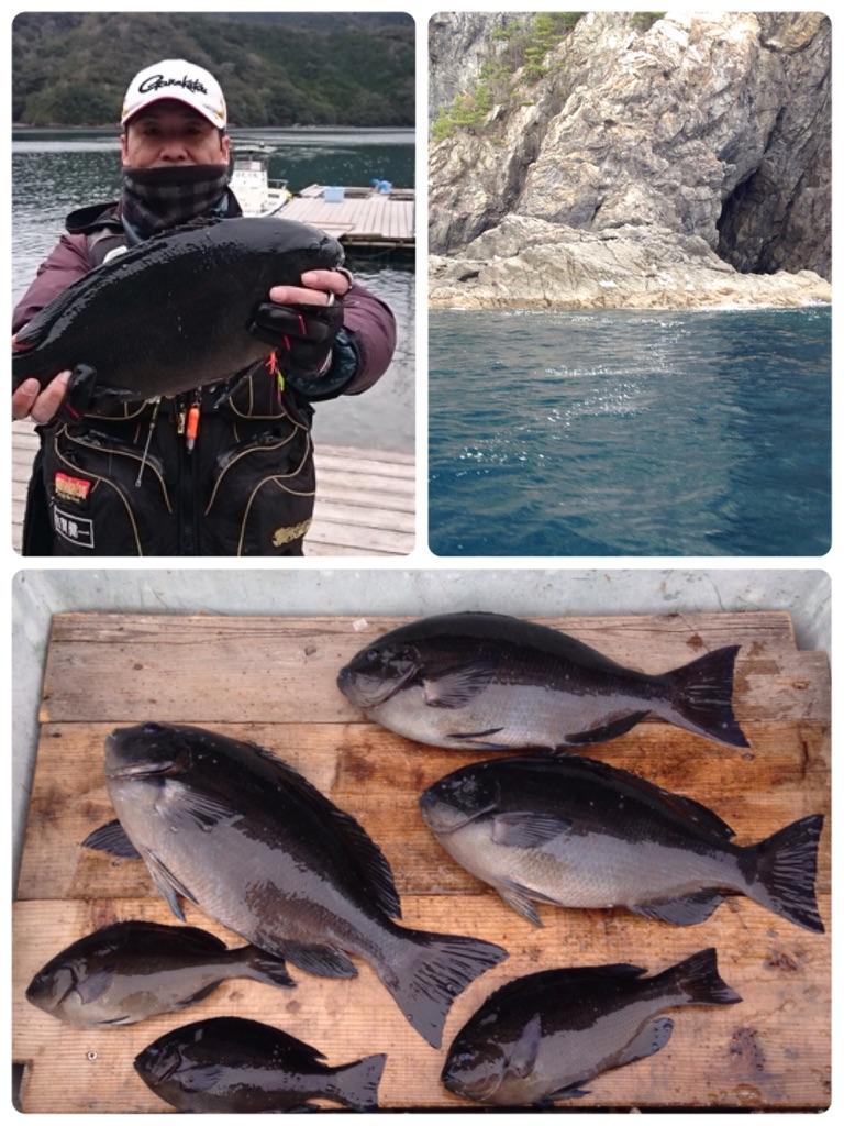 古和浦で数釣りを楽しむ。