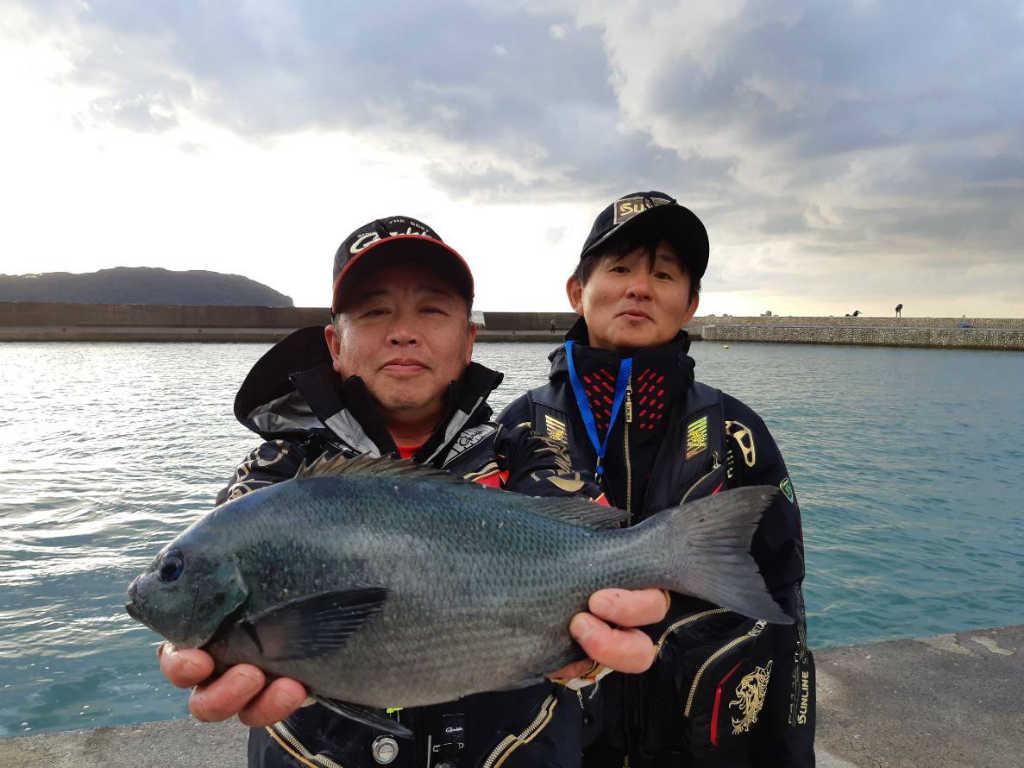 ホームグラウンドでの釣りを満喫!