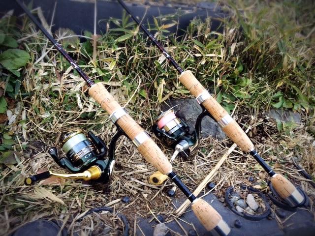 東山湖での釣り初め