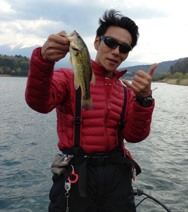 河口湖釣行