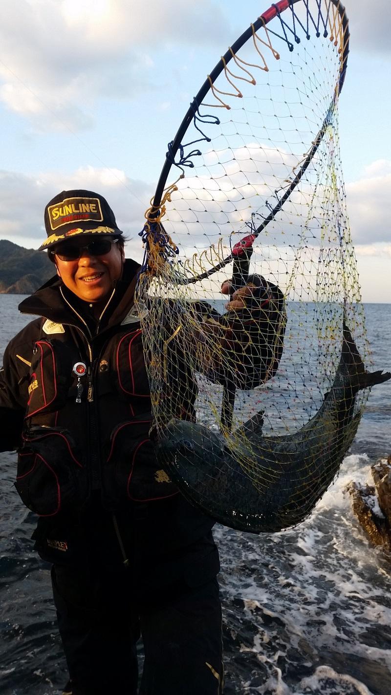 由良半島のグレ釣り