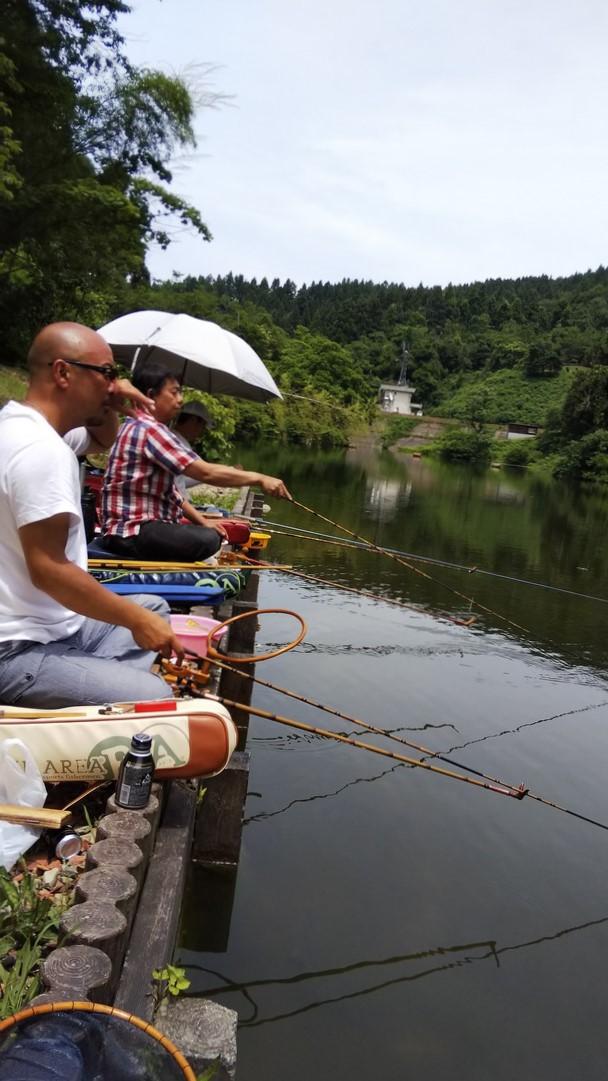 野釣りを満喫!!