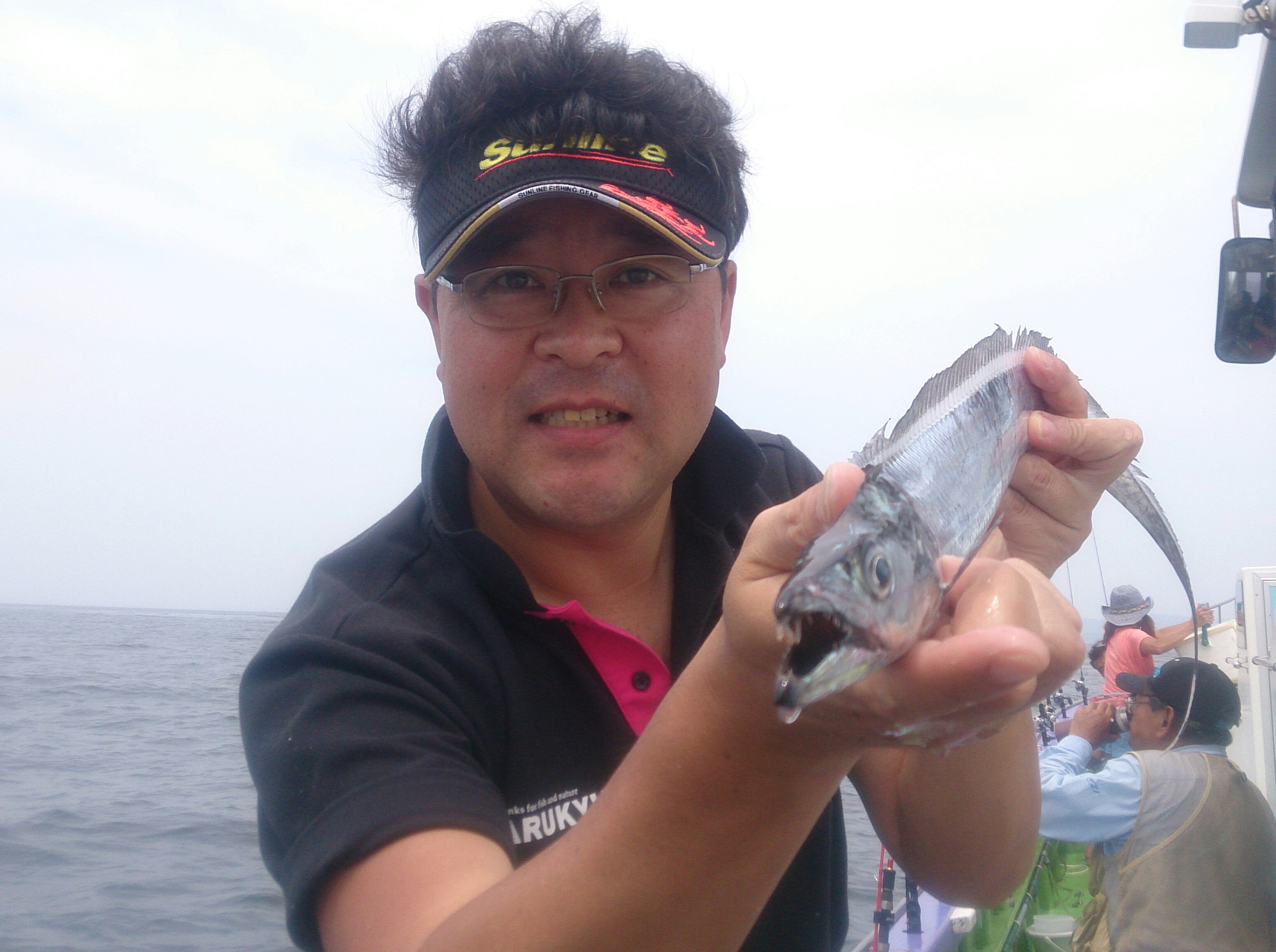 東京湾、タチウオシーズン開幕!