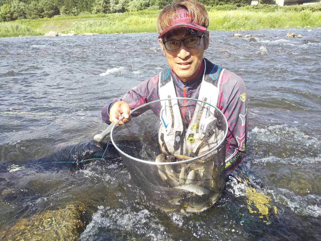 米代川:鹿角地区支流癒やしのアユ釣り♪