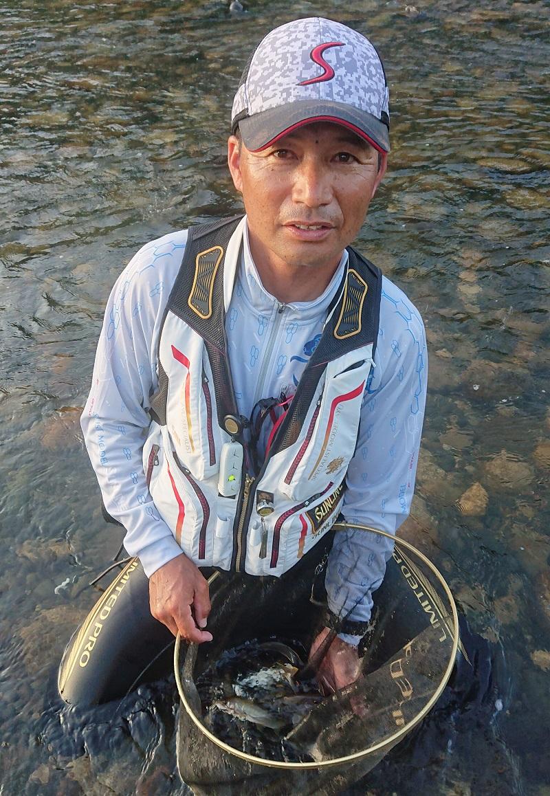 新潟県 三面川釣行レポート