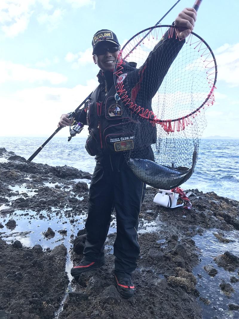 初釣り釣行