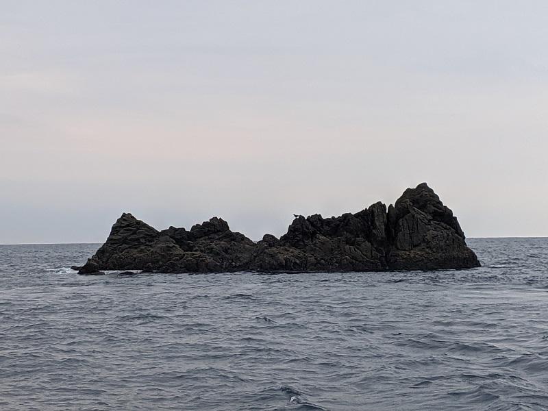 飛島渡船に乗って名礁飛島!