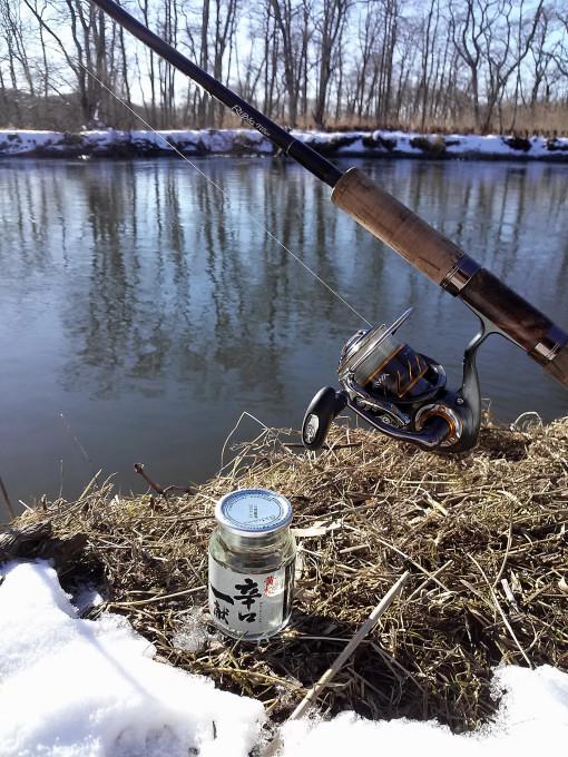 極寒の2015年釣り納め